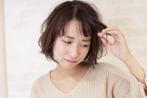 前髪失敗のイメージ画像