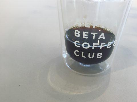 自由が丘alphabetacoffeeclubのコーヒー