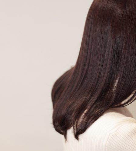 美人見えする髪色の画像
