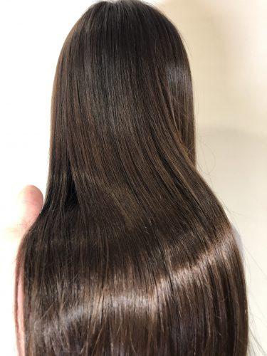 オーガニックカラー 髪色